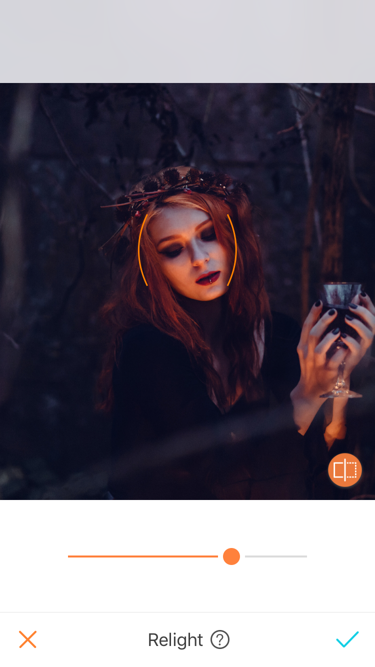 spooky relight
