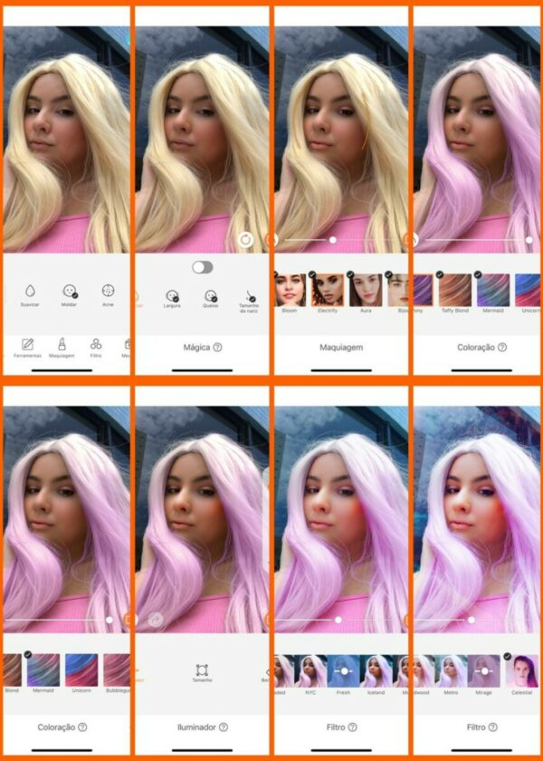 como fazer selfies mais legais