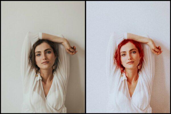 Uma foto só, 3 edições diferentes