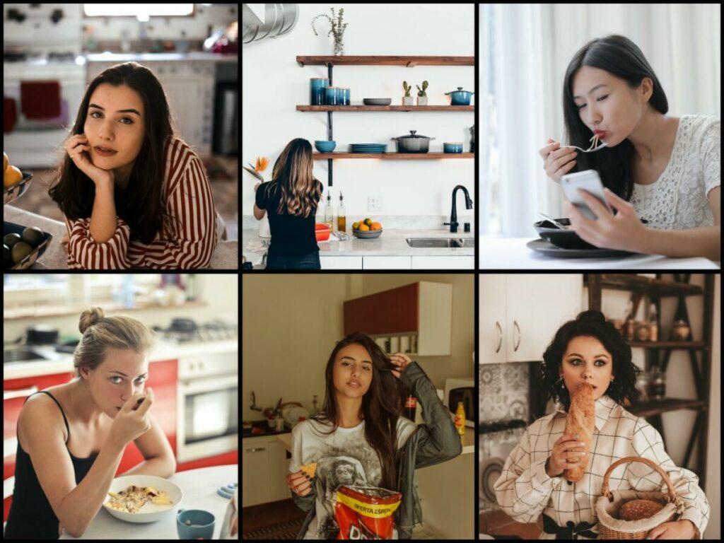 Inspirações de fotos em casa