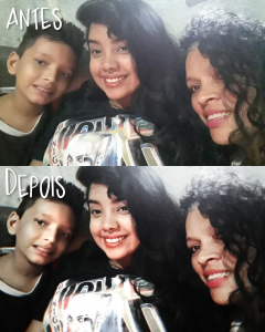 mother daughter son before after photo foto dia das mães