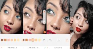 photo editing iris blue eyes