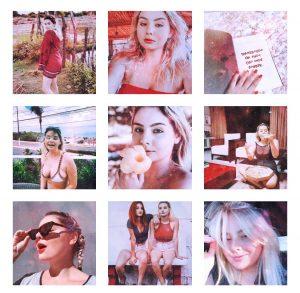 girl blond hair instagram feed
