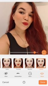 airbrush makeup tool photo editor lips lipstick