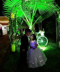 kids wedding photo night