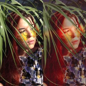 antes e depois da foto