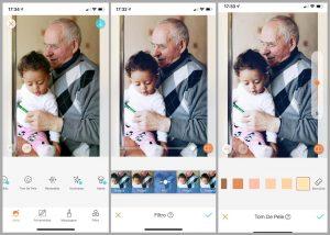 Tutorial de edição de foto usando as ferramentas do AirBrush