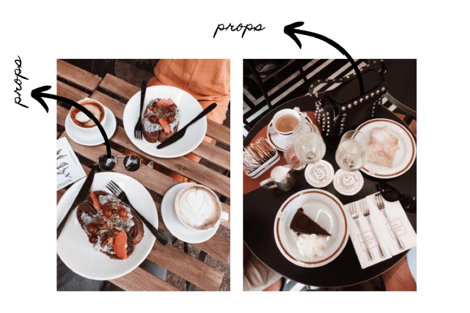screenshot de una cuenta de instagram de comida