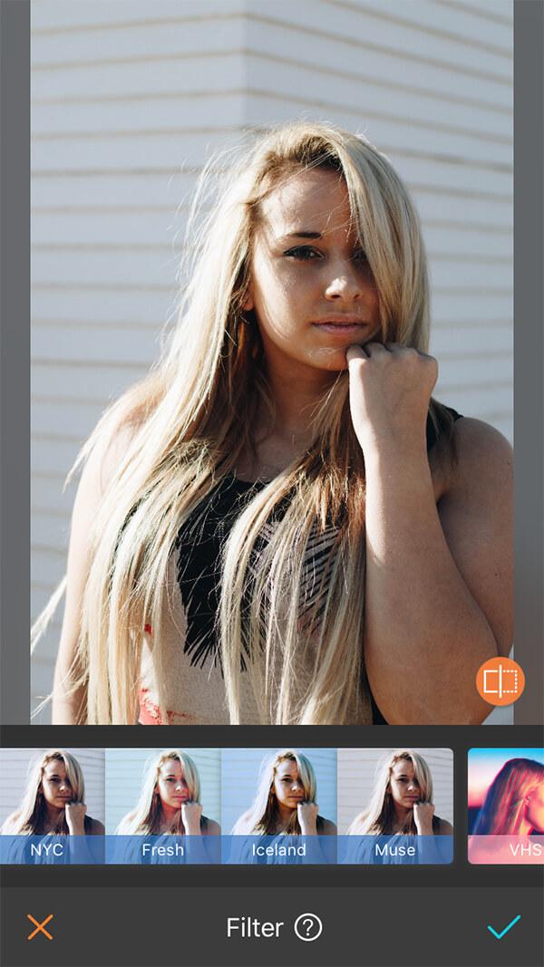 Blond (No filter)