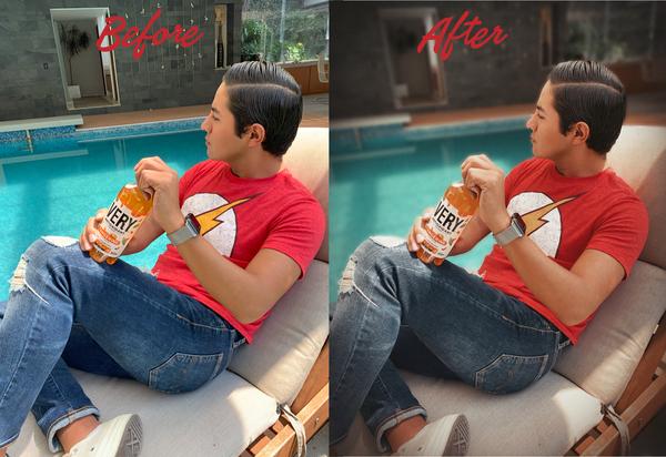 Realza tu foto Antes y Después