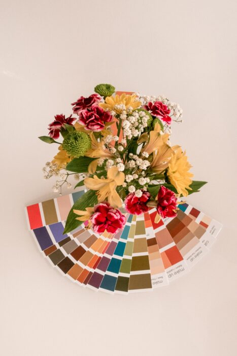 Flower colour scheme