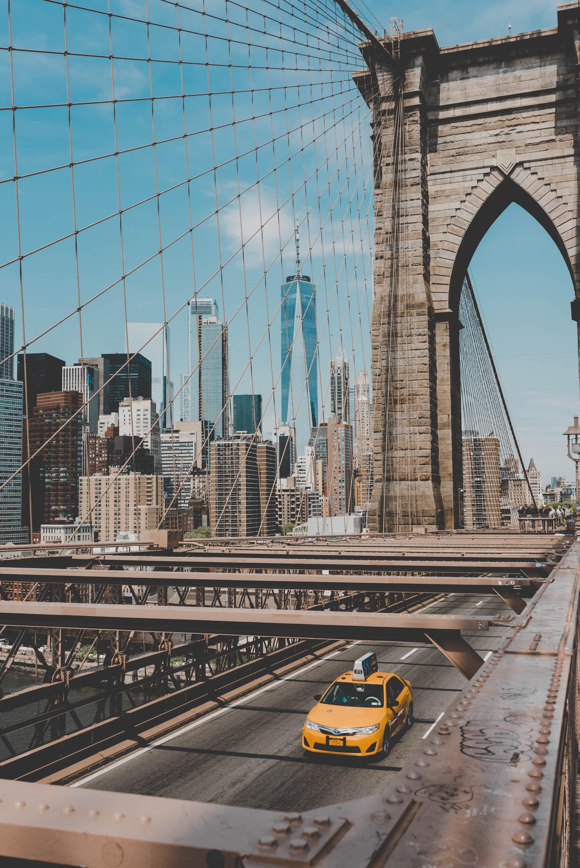 foto de uma ponte em NYC