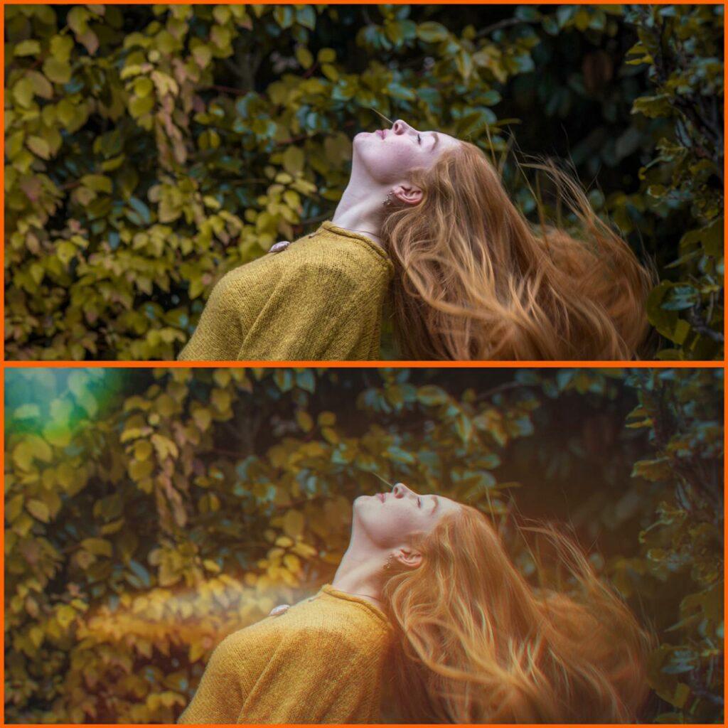 antes e depois splendor