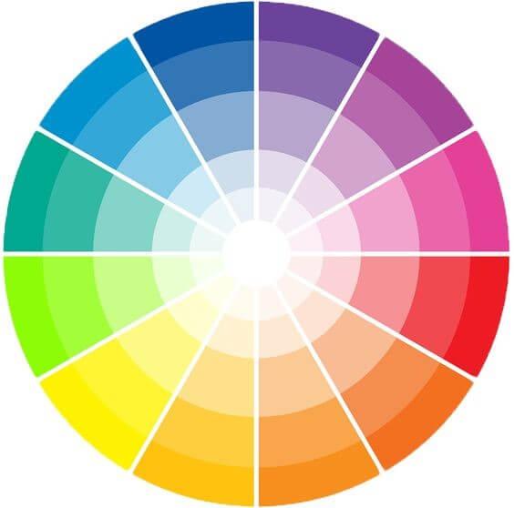 circulo cromatico para foto perfeita