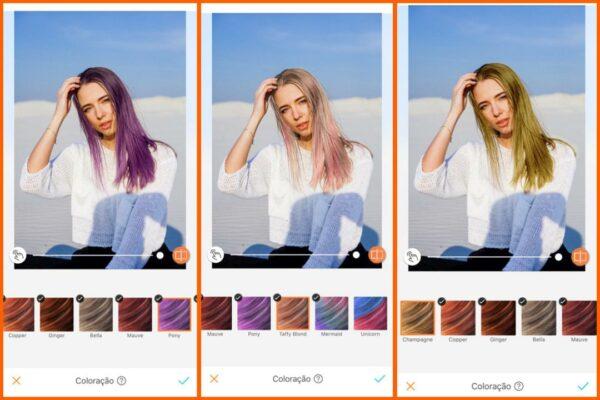 como usar a coloração