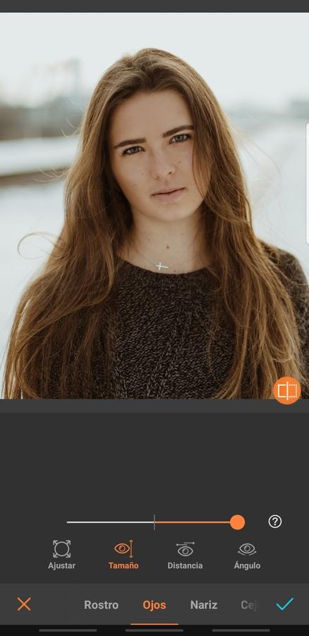 foto de mujer con cabello largo