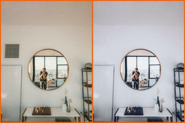 Selfies legais no espelho