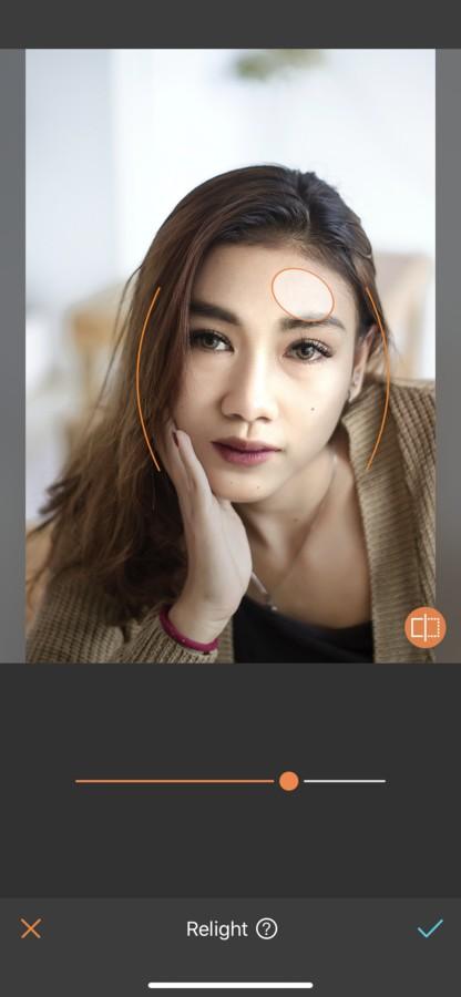 Fotografía de una mujer asiatica