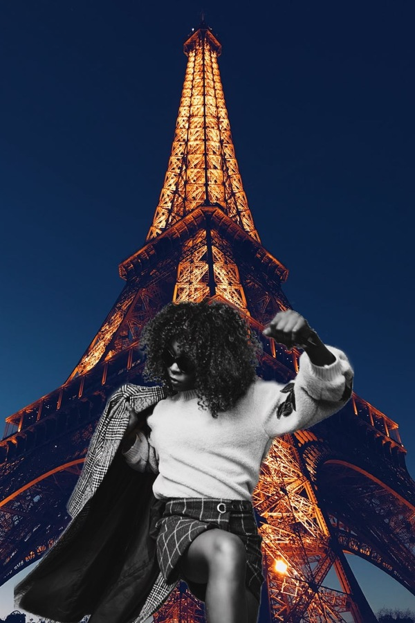 Un viaje a la torre Eiffel con Fondo