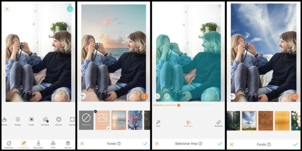 Dia dos Namorados: Mude o fundo de sua foto