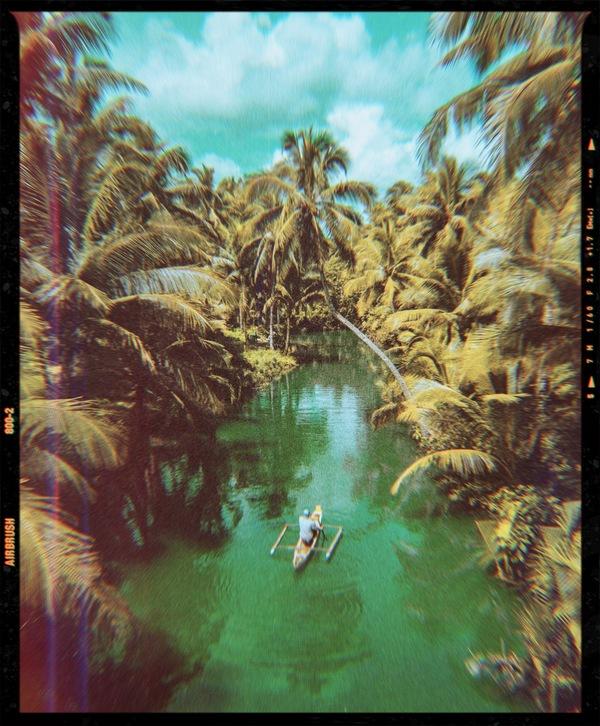 foto de un lago editada por AirBrush