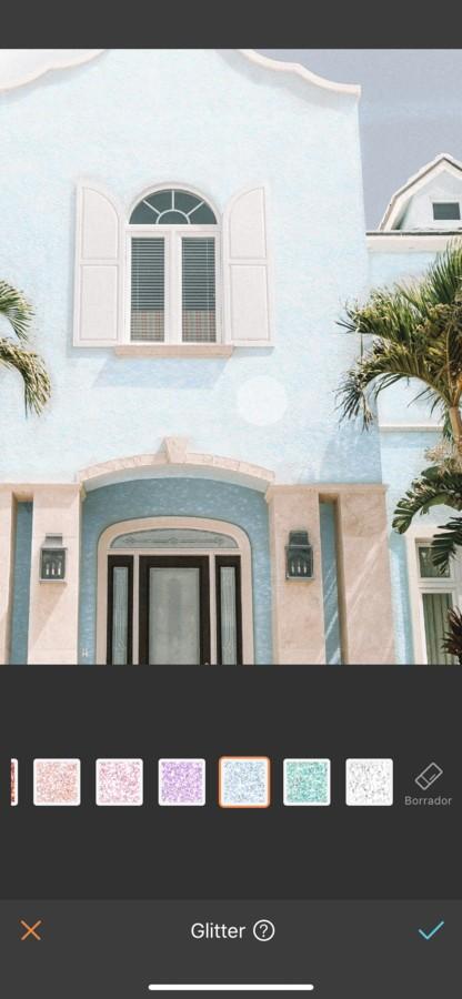 foto de la fachada de una iglesia editada por AirBrush