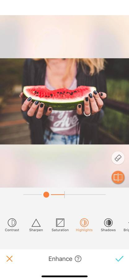 hands holding a watermelon