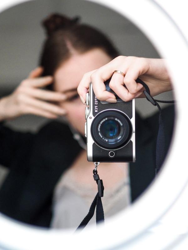 Selfies using mirrors 14