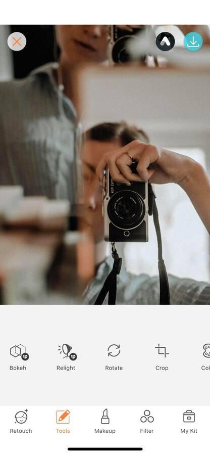 Selfies using mirrors 18
