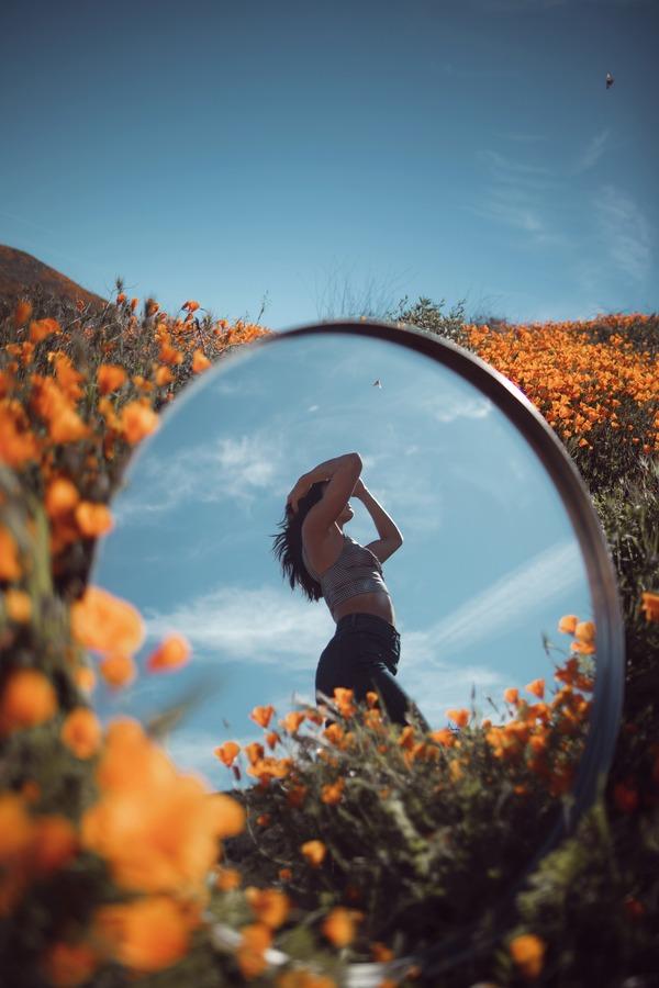 Selfies using mirrors 20