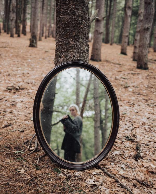 Selfies using mirrors 21