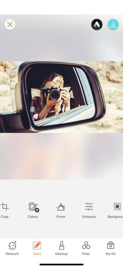 Selfies using mirrors 23