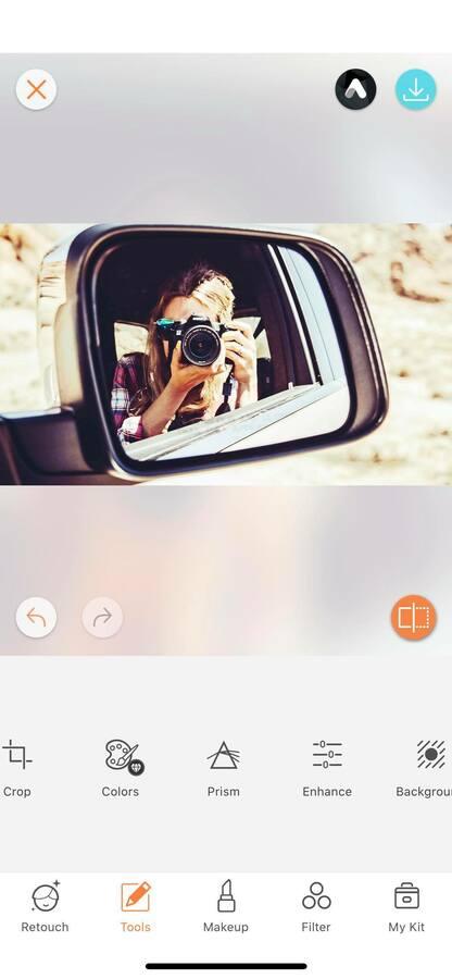 Selfies using mirrors 24