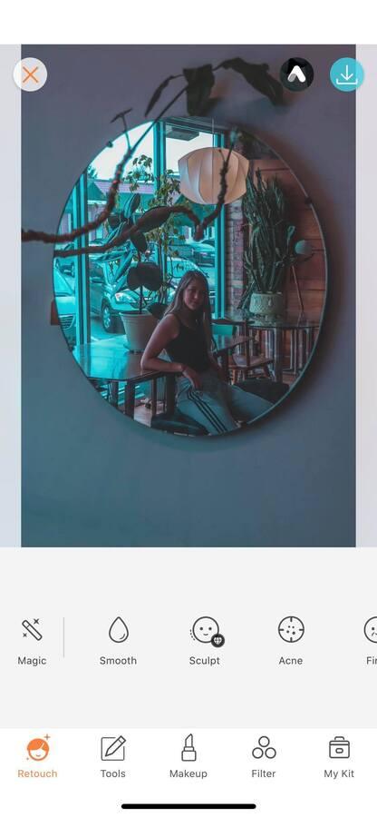 Selfies using mirrors 06