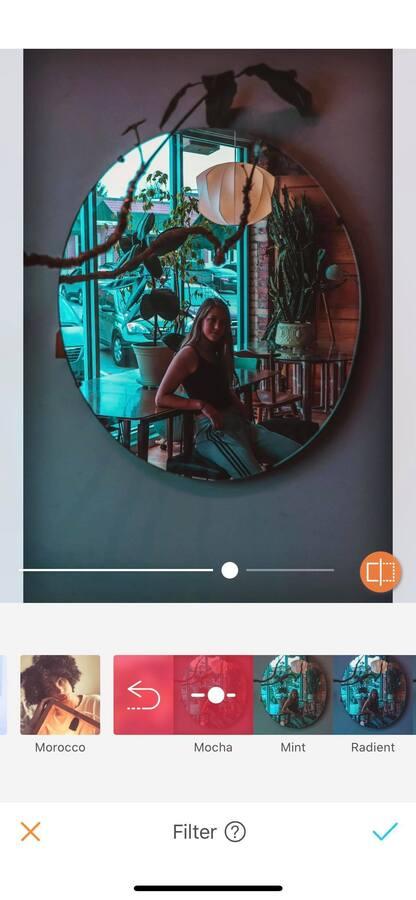 Selfies using mirrors 08