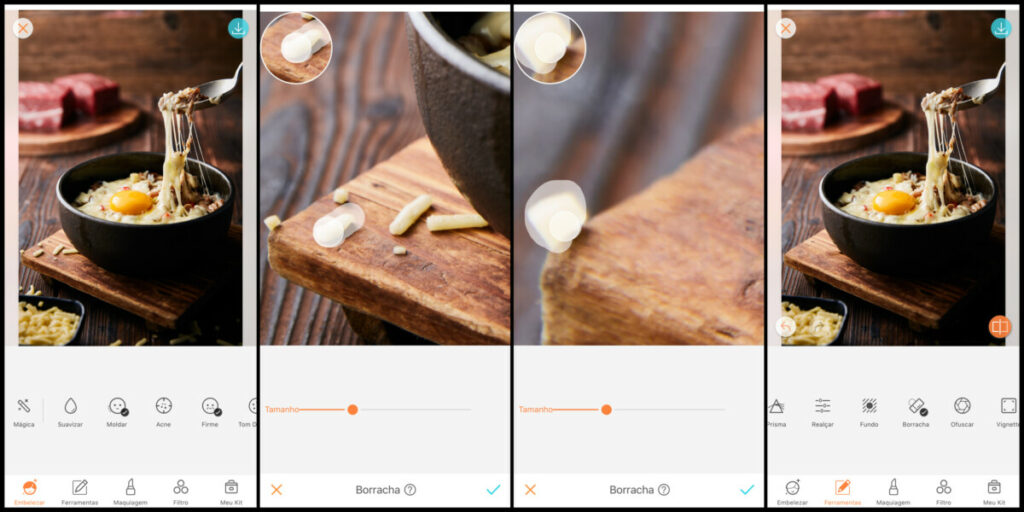 Como melhorar suas fotos de comida