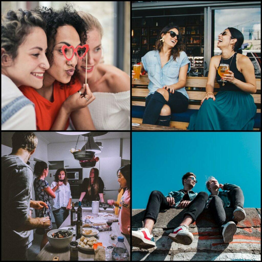 Dia do amigo: dicas de fotos e edições