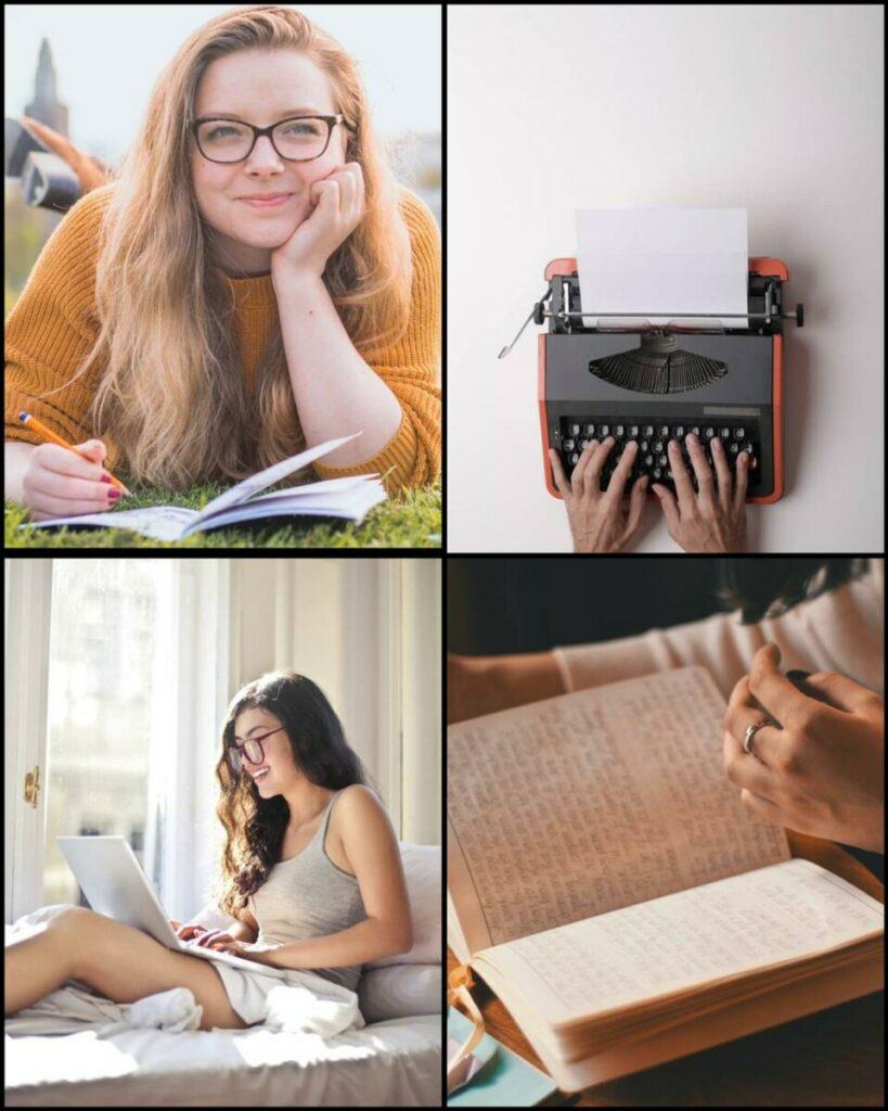 Como fazer fotos escrevendo