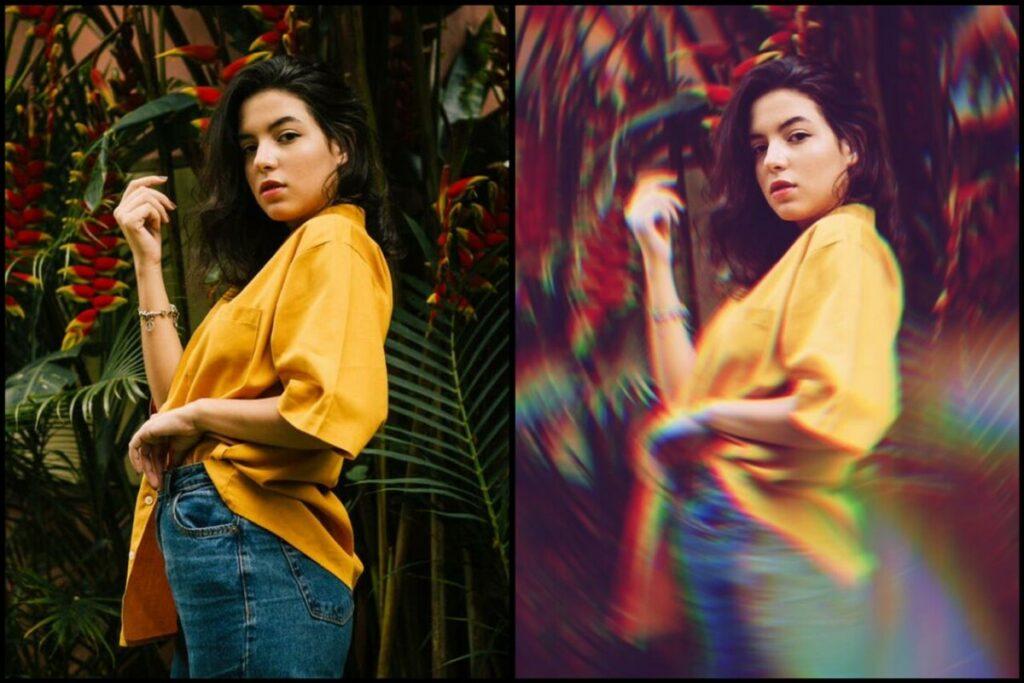 Como fazer lindas fotos com efeito prisma
