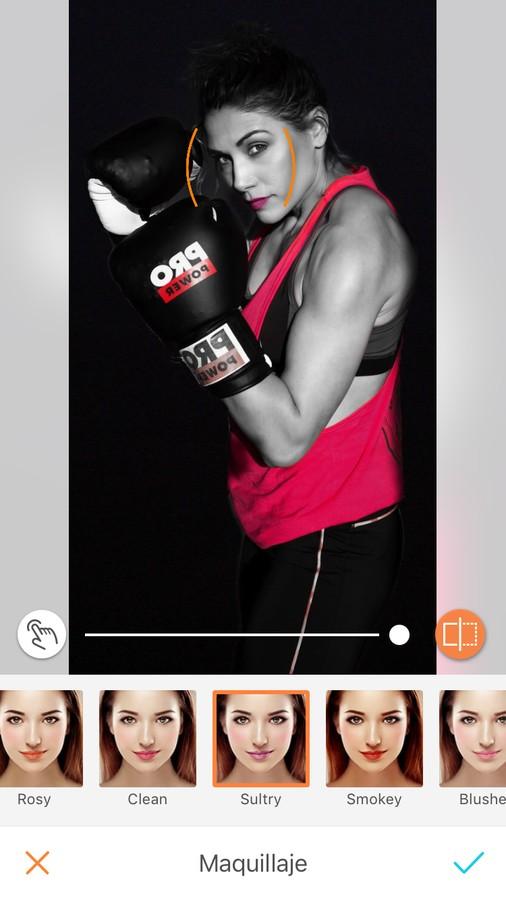 Edición para mujeres desportistas - Maquillaje
