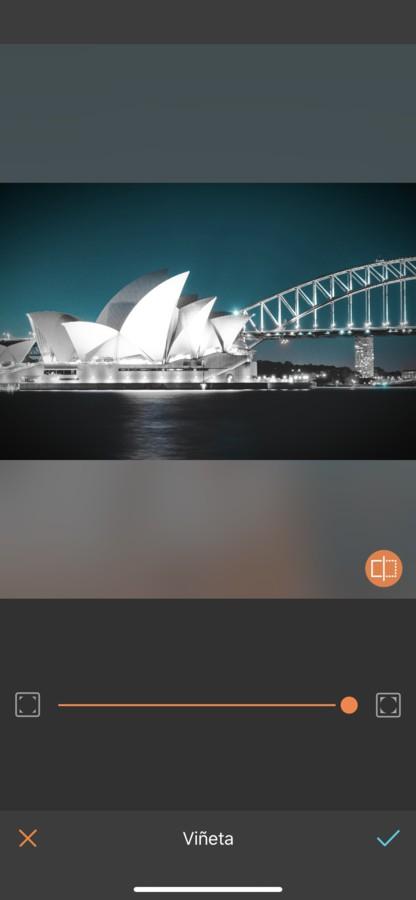 Sydney editada con Viñeta