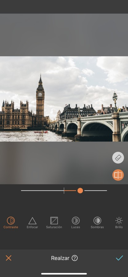 Londres editada con Contraste