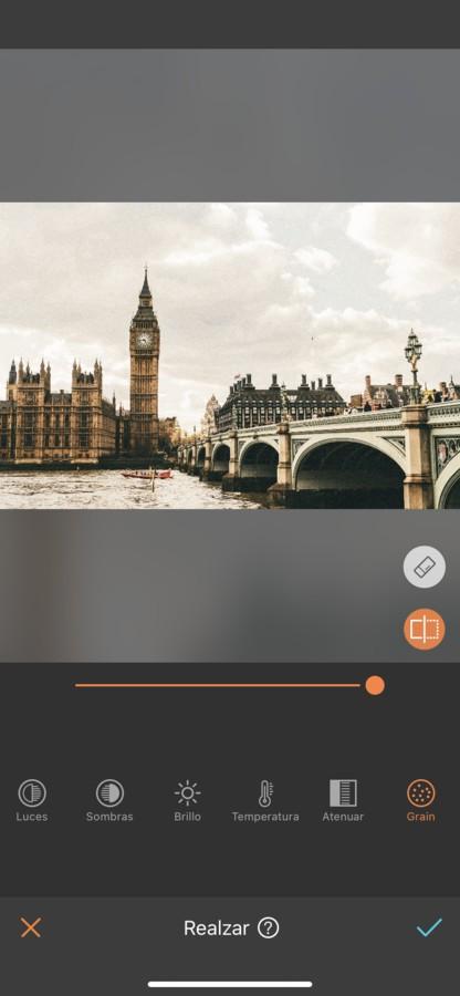 Londres editada con Brillo