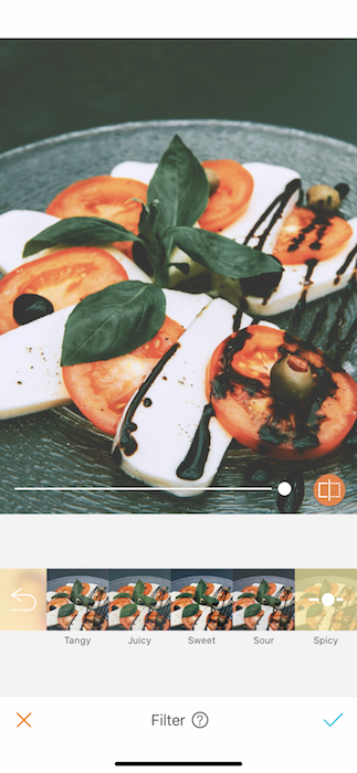 Mouthwatering Foodie Filters 11