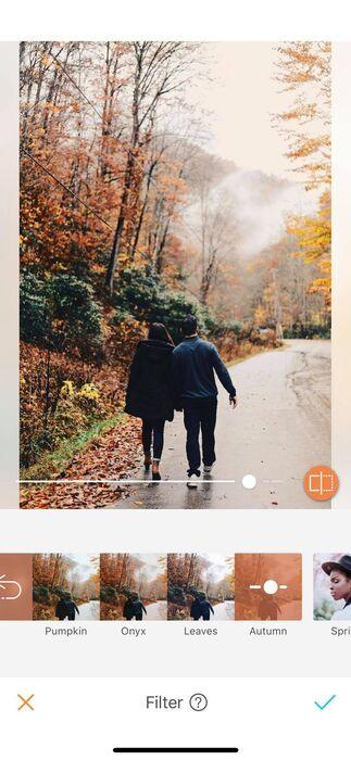 L'automne est enfin là ! Les nouveaux filtres AirBrush aussi.10
