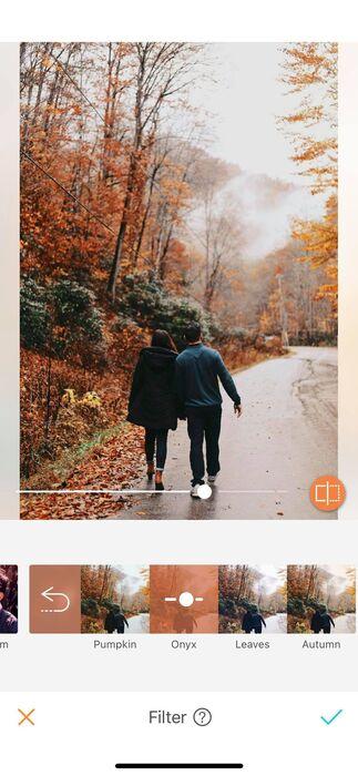L'automne est enfin là ! Les nouveaux filtres AirBrush aussi.08