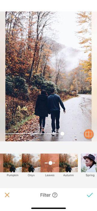 L'automne est enfin là ! Les nouveaux filtres AirBrush aussi.09