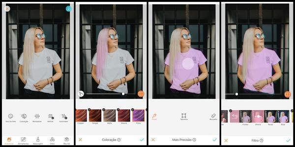 Truque de edição: mude a cor da sua roupa