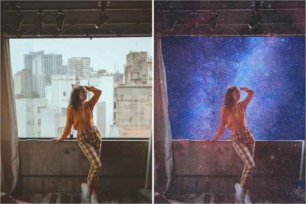 AirBrush nas estrelas