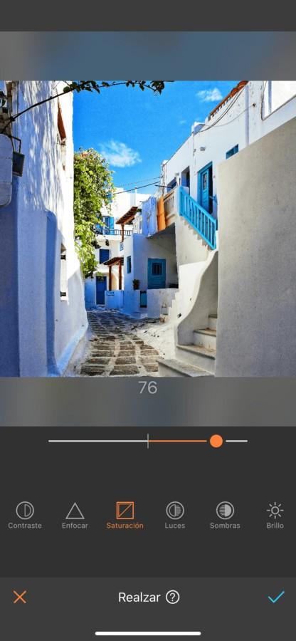 Foto de una calle en Grecia